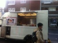 Catering van ford transit new kitchen