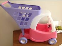 Little Tikes cosy coupe shopping trolley toy
