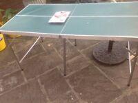 Foldaway Table Tennis Table