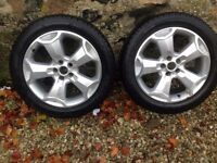 Ford Kuga Alloys with Winter Tyres (2)