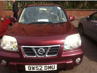 Nissan Xtrail 2.2 SE+ mot December, 114k great runner