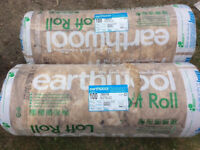 3 and a half rolls of new loft insulation, covers 7.8m2 per roll Knauf earthewool
