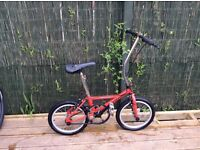 Daewoo semi fold up bike £50ono
