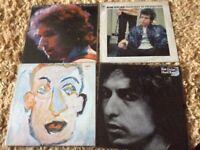 Bob Dylan original vinyl records