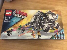 Lego movie secret police dropship