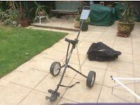 Donney Wheeled Golf Trolley