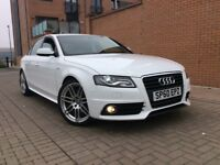 AUDI A4 2.0 TDI S LINE WITH ONLY 48000 MILES MOT FULL SERVICE HISTORY EXCELLENT CONDITION