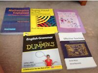 Five books to aid a primary teaching degree
