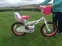 "Girls 16"" 'Blossom' bike"