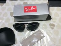 New RayBans ORB 3386 Polarised Lenses with case/cloth & retail box