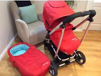 Cosatto Cabi Pram and pushchair, travel system