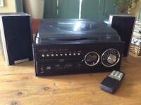 Reflexion Turntable CD Radio System