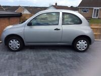 Nissan Micra for repairs or spares