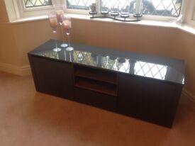 Tv cabinet high gloss grey