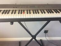 Casio LK120 Keyboard (light up teaching keys)