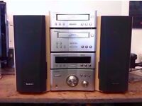 TECHNICS SC-HD510 STEREO SYSTEM