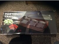 Partition tray