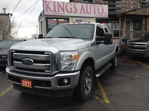 2011 Ford F-250 Lariat, LEATHER, NAVI, BACK-UP CAM