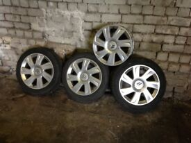 Citreon C3 VTR Alloy Wheels and Tyres