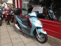 HONDA DYLAN SES 125 MOT DECEMBER RECENT SERVICE GREAT SCOOTER BEEN WELL MAINTAINED DELIVERY POSSIBLE