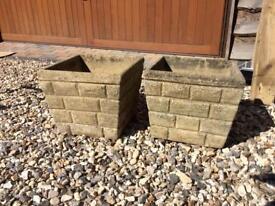 Concrete Plant Pots
