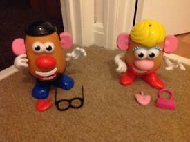 Mr and Mrs Potato Head