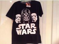 JOB LOT 27 Star Wars Boys T-Shirts Ex stock Disney 10yrs, 12yrs, 14yrs & 16yrs NEW WITH TAGS