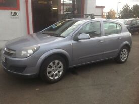 Vauxhall Astra club 1.4 2006 plate 87000 miles 1 owner from new MOT ONE YEAR 5 door alloys grey