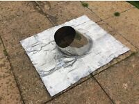 Roof chimney flashing ideal for log coal or gas fires it was fitted to roof but never used