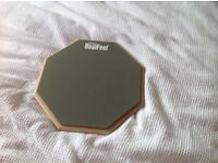 Evans RealFeel 12 inch practice pad, nearly new vgc, £20, collection only