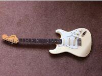 Vintage 1985 fender squire sq jv RI white rosewood stratocaster
