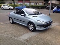 Superb 206 cc with full Peugeot service history and very low miles only 1 former keeper must be seen