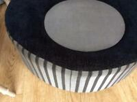 Spinning foot stool