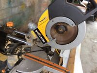 Evolution Rage3 Mitre Saw and Bench