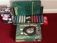Roulette wheel/casino/poker