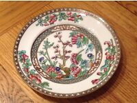 "Antique Early 20thc. Coalport China 'Indian Tree' 10"" Plate"