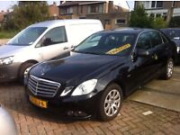 LEFT HAND DRIVE MERCEDES BENZ E220, DRIVES EXCELLENTLY WITH FULL OPTIONS AND AUTOMATIC TRANSMISSION