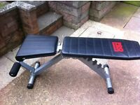 Weights bench in good condition