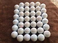 40 Titleist Pro V1X Practice. Golf Balls.