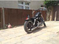 Harley sportster Bobber 1200 Evo stage 2 engine