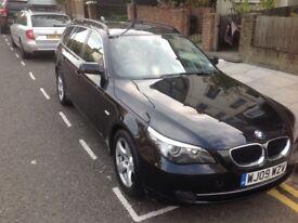 BMW 520d SE Touring, 2009 LCI, great condition,Satnav, Parking Sensors, Heated seats, tinted windows