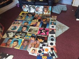 Elvis Presley record collection