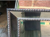 Mirrors , large, decorative suitable for home