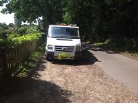 Ford Transit tipper double cab high side