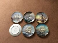 Great Clipper Ship Plate Collection