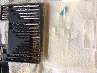 Drill bit and screw box kit