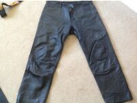 Gericke leather jeans/ motorcycle