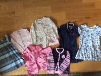 Bundle of girls clothes 3-4 yrs