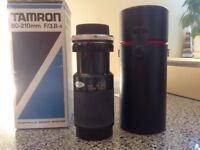 Tamron 80-210mm F/3.8-4 lens