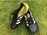Adidas Rugby boots UK size 9 (adult)